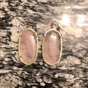 Kendra Scott Pink Earrings